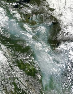 """Northern Canada is On Fire, And It's Making Global Warming Worse   Boreal forests like those in the Northwest Territories are burning at rates """"unprecedented"""" in the past 10,000 years according to the authors of a study put out last year. The northern reaches of the globe are warming at twice the rate as areas closer to the equator, and those hotter conditions are contributing to more widespread burns."""
