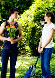 #August and Hazel <3