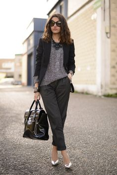 all about grey and black | Lovely Pepa by Alexandra