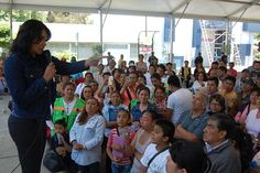 DETALLÓ DIONE ANGUIANO A LOCATARIOS DEL MERCADO 39 PROYECTO DE REHABILITACIÓN DE LOS OCHO BARRIOS