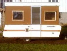 Wood sided Converted Pop up camper