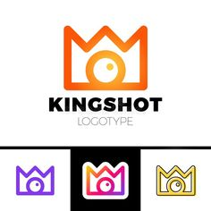 Creative Concept For Photography Studio. Modern Logo Design Layout With Camera And Crown. Stock Illustration - Illustration of equipment, logotype: 102294522 Photography Logo Hd, Camera Logo, Modern Logo Design, Free Illustrations, Layout Design, Royalty, Symbols, Concept, Crown