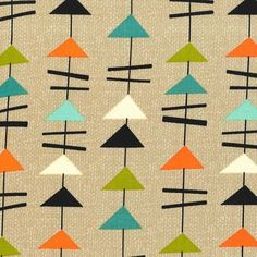 Michael Miller - Jug Or Not Mobiles Vanilla - cotton fabric