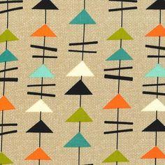 Michael Miller - Jug Or Not Mobiles Vanilla - cotton fabric