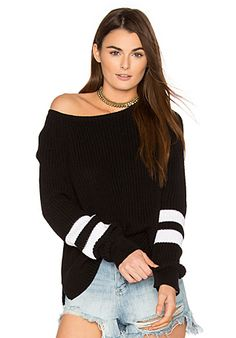 360 Sweater Cirilla Sweater in Black & White | REVOLVE