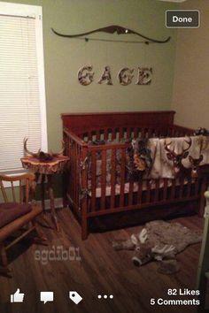 Cool nursery idea