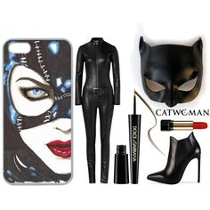 """""""Catwoman DIY Costume"""" by joanne-michie on Polyvore"""