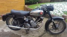 eBay: 1956 Panther Model 100. 600cc OHV Single. Unrestored But Running British Classic #motorcycles #biker