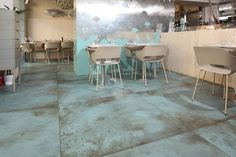 Dining Table, Mint, Restaurant, Indoor, Flooring, Turin, Furniture, Boards, Home Decor