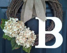 EVERYDAY Wreath Wreath for Door Year-Round by AutumnWrenDesigns