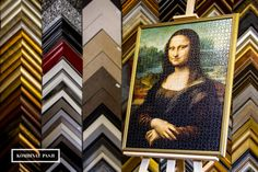 #monalisa #puzzle #oprawa #oprawaobrazow #ramiarnia #ramiarniakrakow  #kombinatpasji #frame #framing Mona Lisa, Puzzle, Artwork, Puzzles, Work Of Art, Auguste Rodin Artwork, Artworks, Illustrators, Puzzle Games