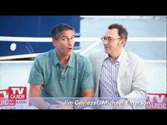 Person of Interest @ Comic-Con 2012! Jim Caviezel and Michael Emerson!