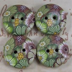 images about Polymer Clay Buttons Polymer