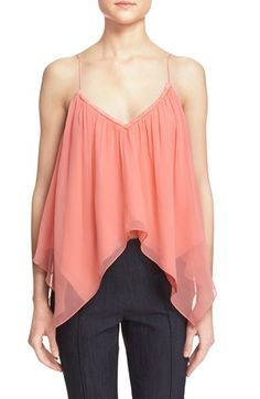 elizabeth and james veronique silk top available at nordstrom