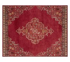 Bryson Persian-Style Rug - Red | Pottery Barn