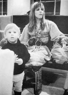 Anita Pallenberg AND SON MARLON KR NOT IN PIC