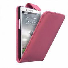 Funda LG Optimus L9 Klam Flip - Rosa. Solo 4.99€