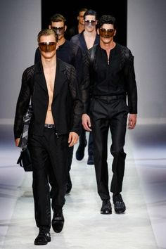 Emporio Armani - Men Fashion Spring Summer 2014 - Shows - Vogue.it