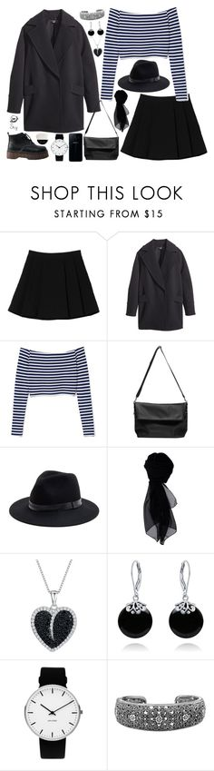 """""""s k y"""" by skyl19 ❤ liked on Polyvore featuring Monki, H&M, Sole Society, KOCCA, Jools by Jenny Brown, Bling Jewelry, Rosendahl, Avon and Giorgio Armani"""