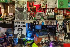 An altar of self-professed 'junk' becomes a source of introspective art