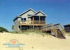Kitty Hawk Rentals Property   Stress Relief - 2015 rates not determined, possibly $2000 (updated, oceanfront, 4 bedrooms 3 bath)