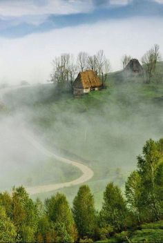 Misty morning in Apuseni mountains by Marian Poară (Romania) www.ro… - Check out Travel Arsenal's latest Wonderful Places, Beautiful Places, Beautiful Pictures, Visit Romania, Romania Travel, Beautiful Landscapes, Beautiful World, Places To See, Countryside