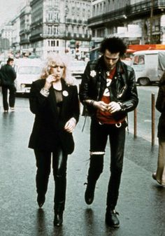 #chiccouples Sid Vicious and Nancy Spungen