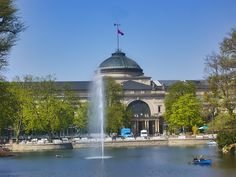 Kurhaus, Wiesbaden Places Around The World, Around The Worlds, Come Fly With Me, Near Future, Taj Mahal, Scenery, Germany, Spaces, Building
