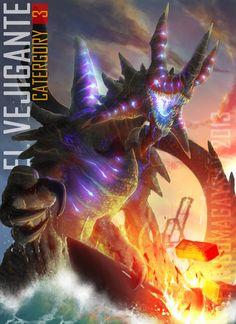 My favourite kaiju Pacific Rim Movie, Pacific Rim Kaiju, Pacific Rim Jaeger, King Kong, Aliens, Gipsy Danger, Cultura Pop, Fantasy Creatures, Fantasy Art