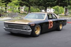 Smokey Yunick's NASCAR Chevelle, a 1967 body with a 1966 front clip. Built for the 1968 Daytona 500 it was never allowed to race.