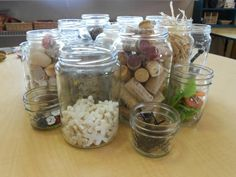 "Loose parts storage from The Remida Project ("",)"