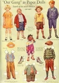 Image result for IMAGES OF Frances Tipton Hunter paper dolls