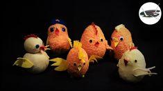Kurczaki ze skarpet na 5 sposobów - Pomysły plastyczne dla każdego