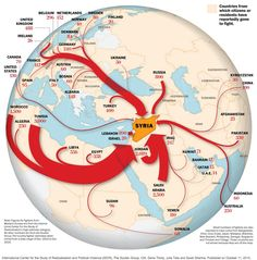 Where foreign fighters in Syria come from Washington post