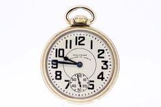 10K Gold Filled Waltham Pocket Watch 23 by timekeepersinclayton