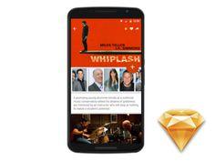 Single Screen Movie App[freebie]