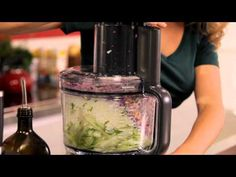 ▶ Breville Food Thinkers: Cabbage Apple and Celery Salad - YouTube (Use a nutmilk yogurt instead of mayo)