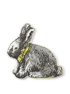 bunny pillow!