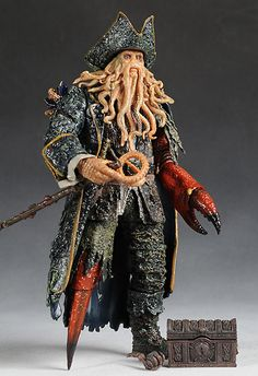 Hot Toys Davy Jones action figure