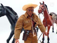 MATTEL BIG JIM KARL MAY Sammlung Cowboys - cyan74.com vintage and pop culture online shop Switzerland Schweiz Swiss Suisse