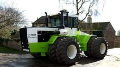 Stieger Tiger 4x4 articulated tractor.