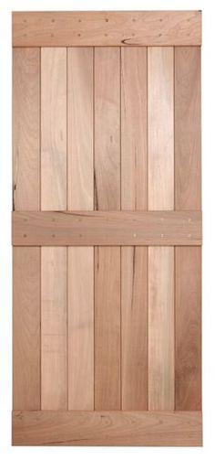 "32"" Walnut Interior Barn Door | 3 Bar | INTERIOR DOORS  | Surplus Building Materials | Dallas - Fort Worth"