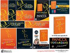 Algunas piezas que he realizado para la campaña de lanzamiento de la nueva novela de Katherine Pancol, MUCHACHAS, editada por La Esfera de los Libros