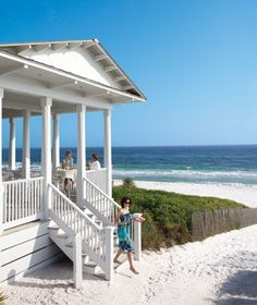 cover pic of Travel and Leisure mag this month...Shrimp Shack in Seaside, Florida! viajar-travel