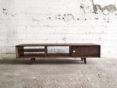 GROGG Credenza  TV Console Cabinet Table by AtelierEastEndMtl
