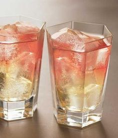 Frenchy- 1 1/2 oz pear vodka  3 oz pineapple juice  1 oz cranberry juice