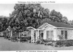 Tallahassee Auto Court cottages - Tallahassee, Florida