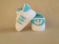 ***INSTANT DOWNLOAD*** This is a PATTERN for crochet Baby Adidas. Price is for the pattern only and not for the finished item.  This pattern is available for an instant download. Once the payment is confirmed, you will receive an email with a download link (it can take around 5 minutes). Since this is an instant download please do not leave a note to seller at checkout. They are not checked on the instant downloads. If you need to contact me please do it through Etsy Conversations. I am…