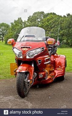 Honda Goldwing trike, Manchester,