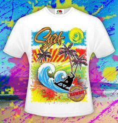 Surf T-shirt Surfing Ocean Tee Surfing Gifts Surf Fashion
